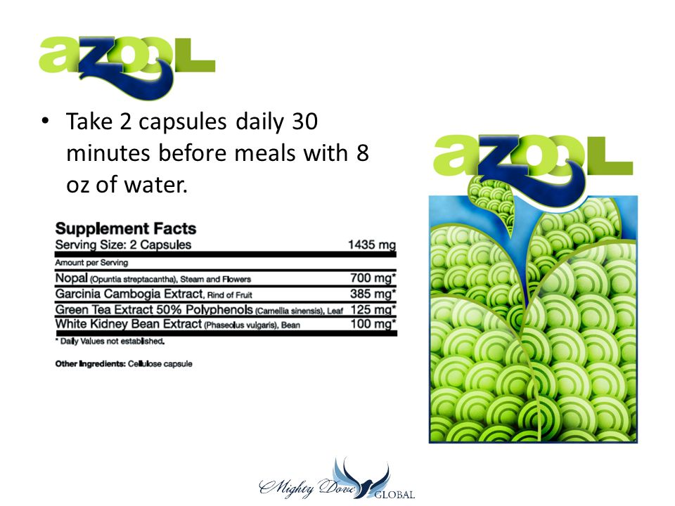 Take 2 capsules daily 30 minutes before meals with 8 oz of water.