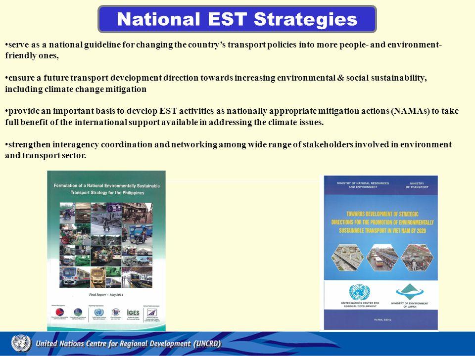 National EST Strategies