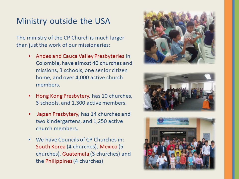 Ministry outside the USA