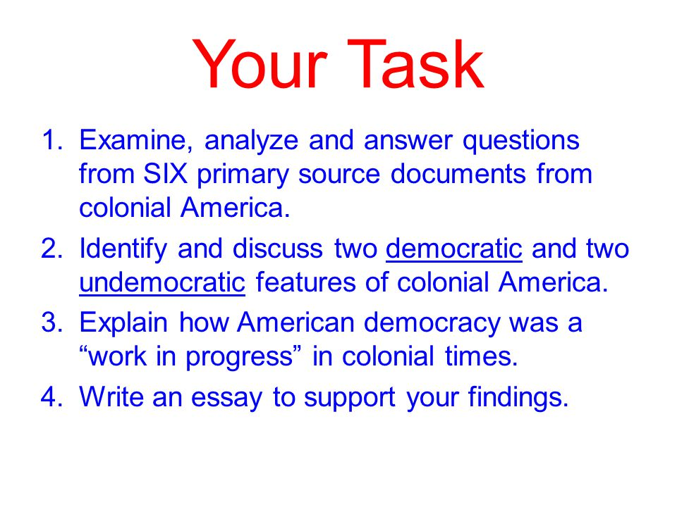 democracy in colonial america ppt video online  10 your