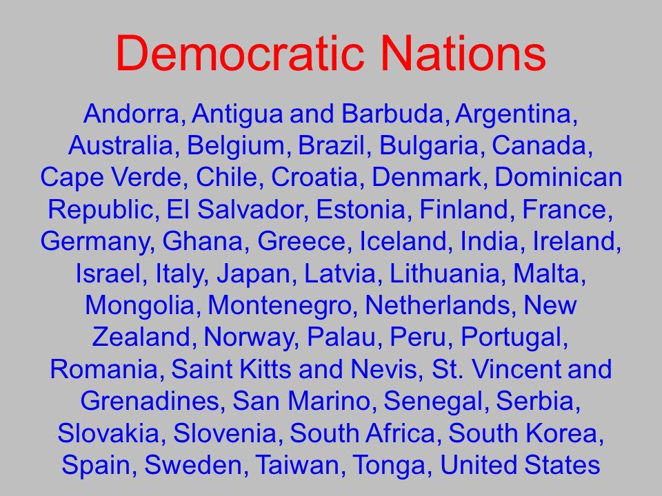 Democratic Nations