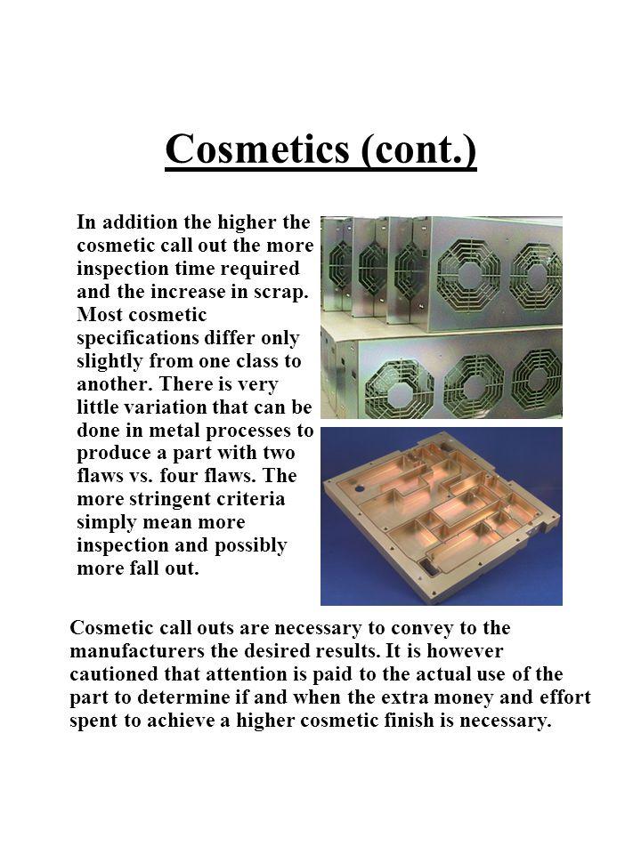 Cosmetics (cont.)
