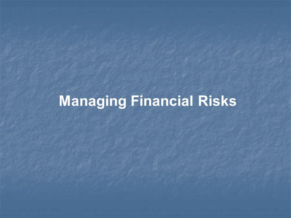 Managing Financial Risks