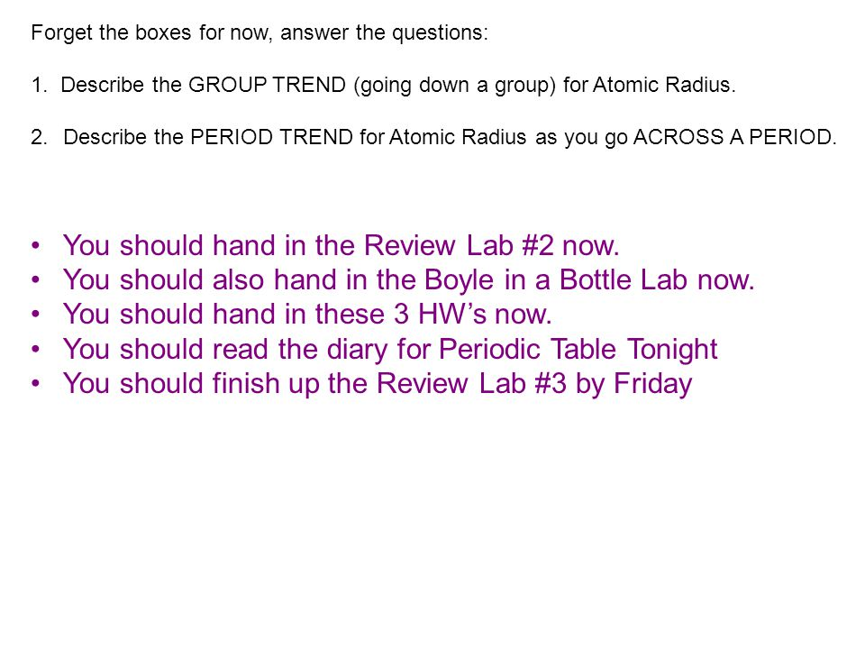 You should hand in the Review Lab #2 now.