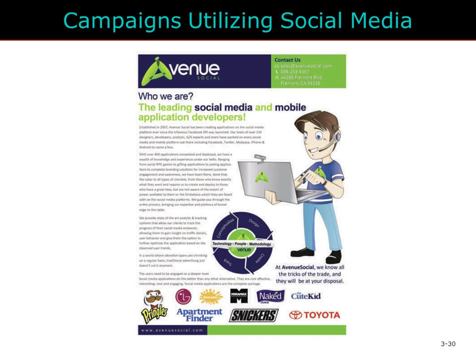 Campaigns Utilizing Social Media