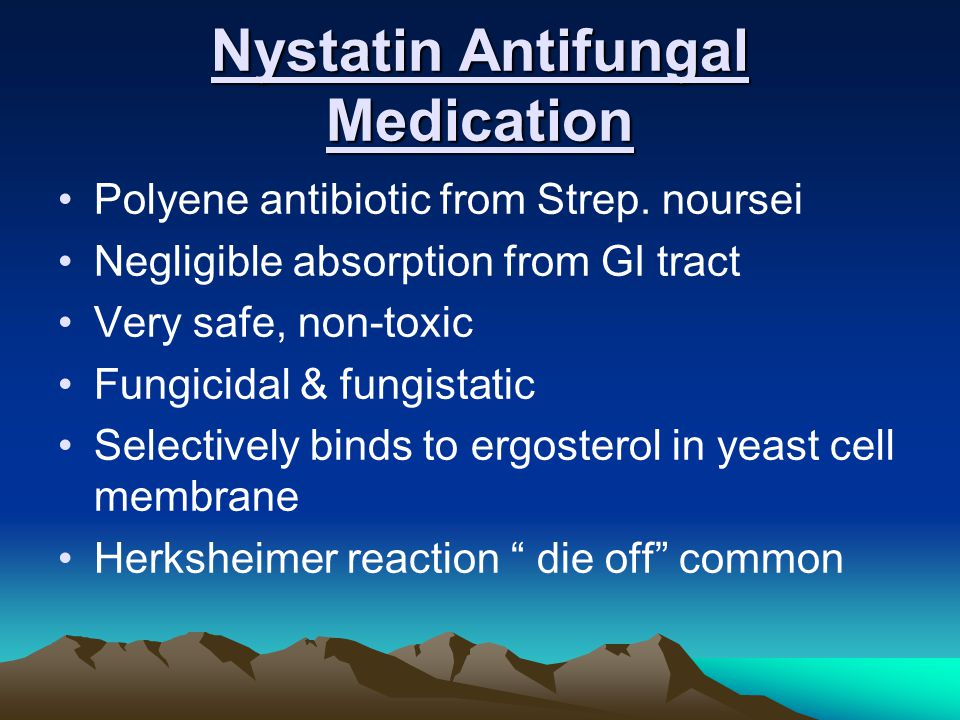 Nystatin Antifungal Medication