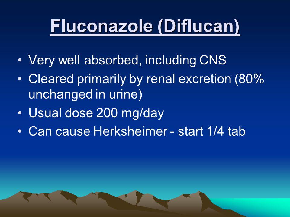 Fluconazole (Diflucan)