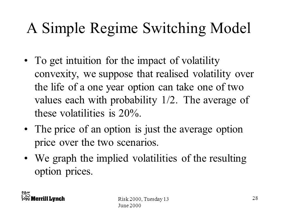 A Simple Regime Switching Model