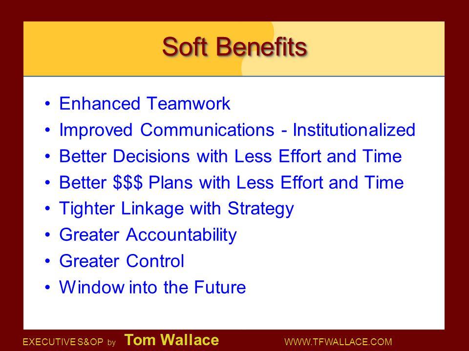 Soft Benefits Enhanced Teamwork