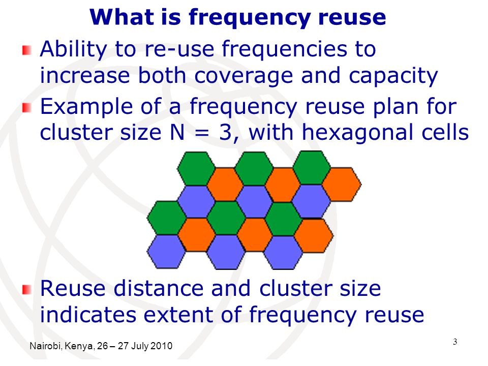 What is frequency reuse