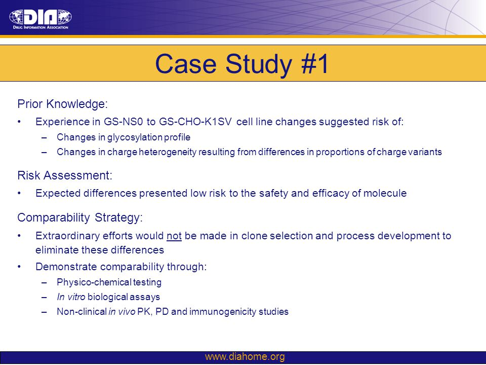 Case Study #1 Prior Knowledge: Risk Assessment:
