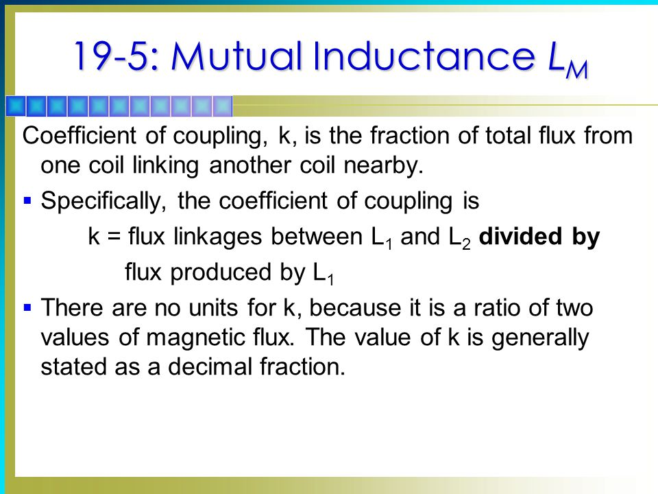19-5: Mutual Inductance LM