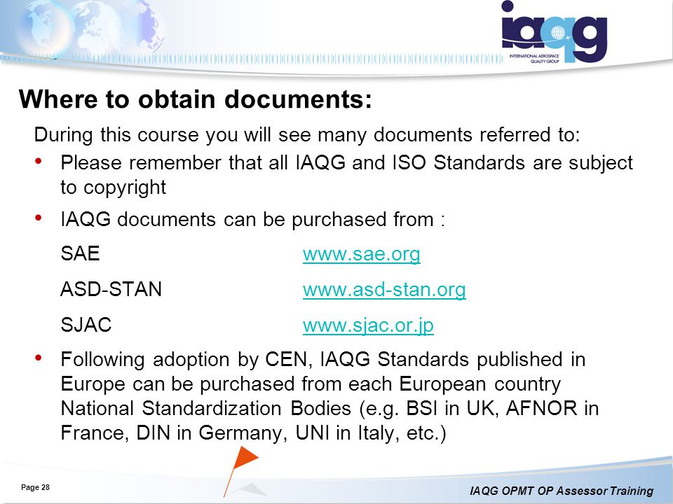 Where to obtain documents: