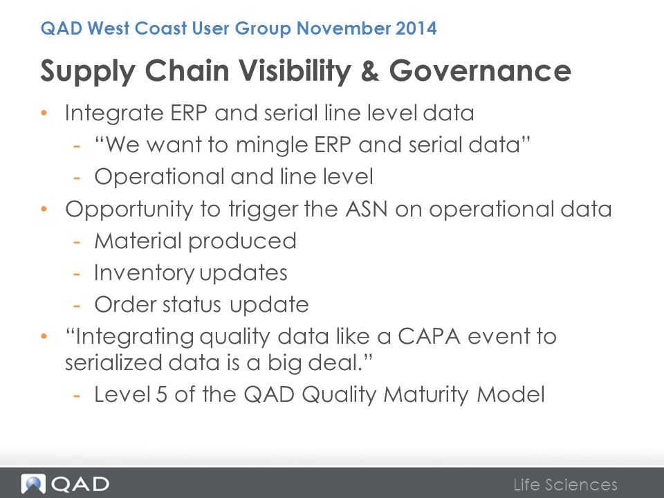 Supply Chain Visibility & Governance