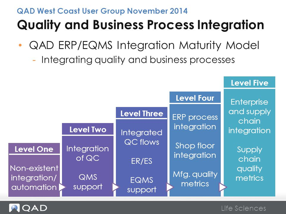 Quality and Business Process Integration