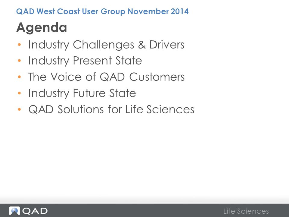 Agenda Industry Challenges & Drivers Industry Present State