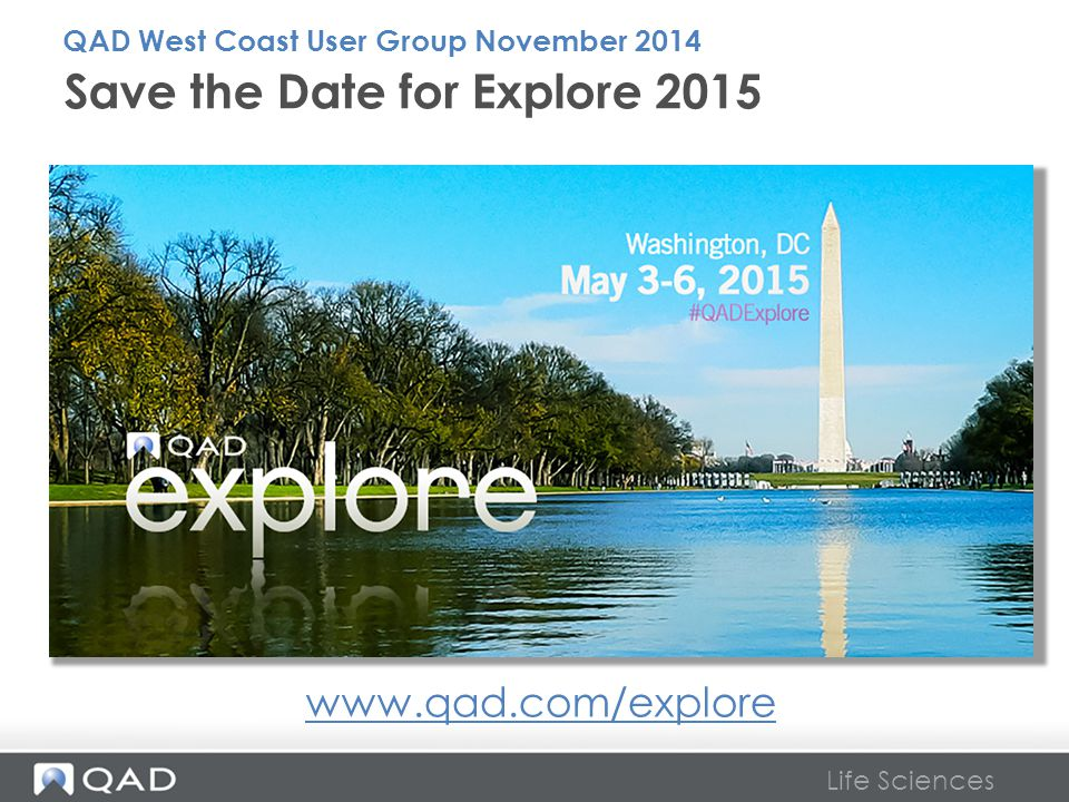 Save the Date for Explore 2015