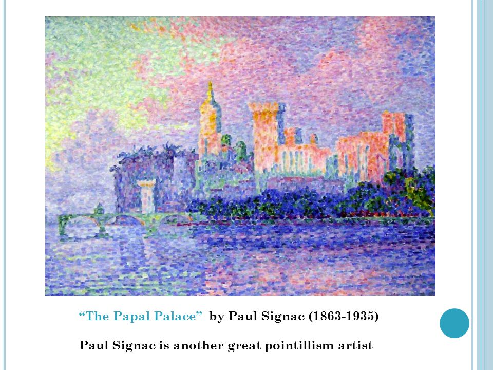 The Papal Palace by Paul Signac (1863-1935)