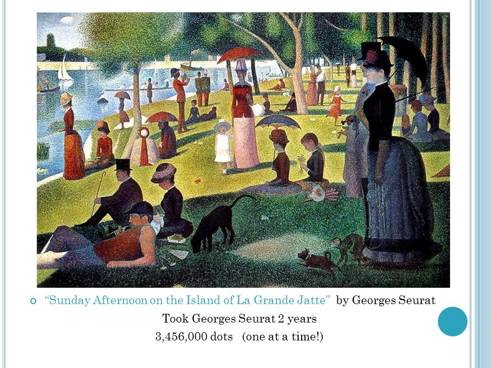 Took Georges Seurat 2 years