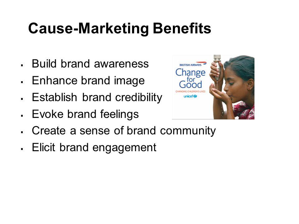 Cause-Marketing Benefits
