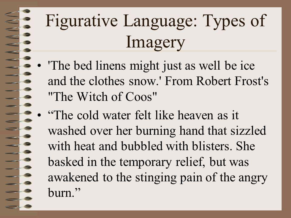 Figurative Language: Types of Imagery