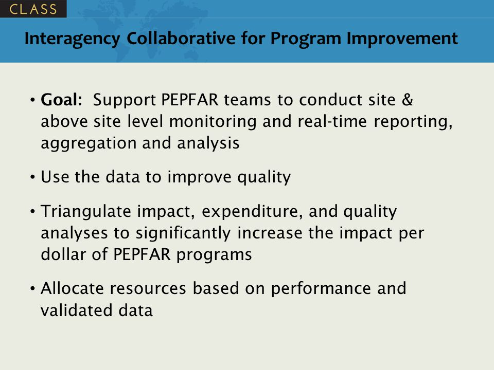 Interagency Collaborative for Program Improvement
