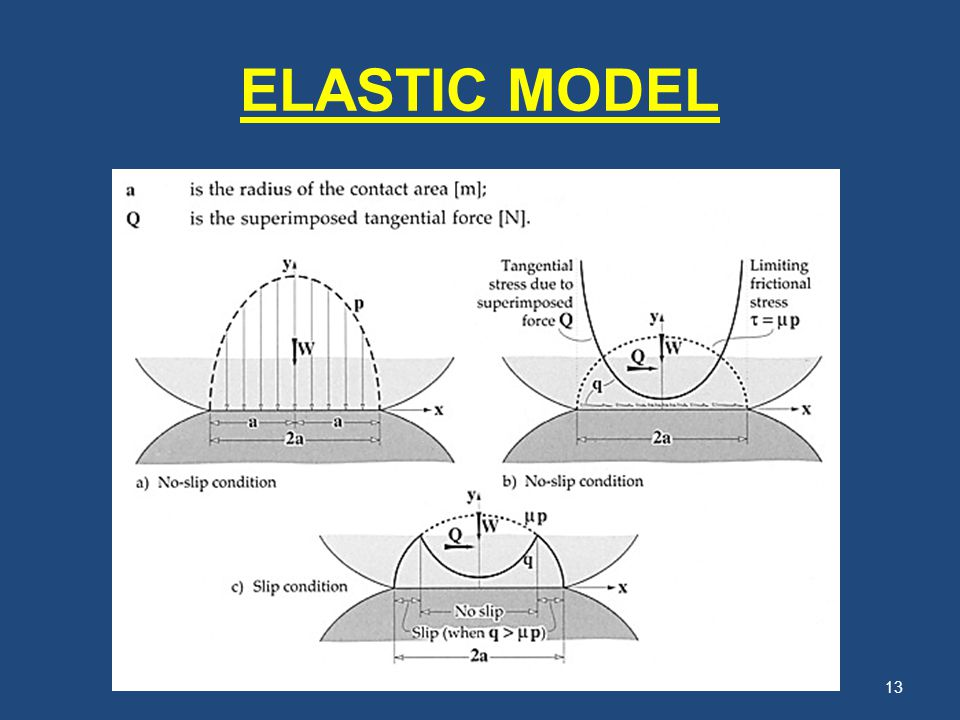 ELASTIC MODEL