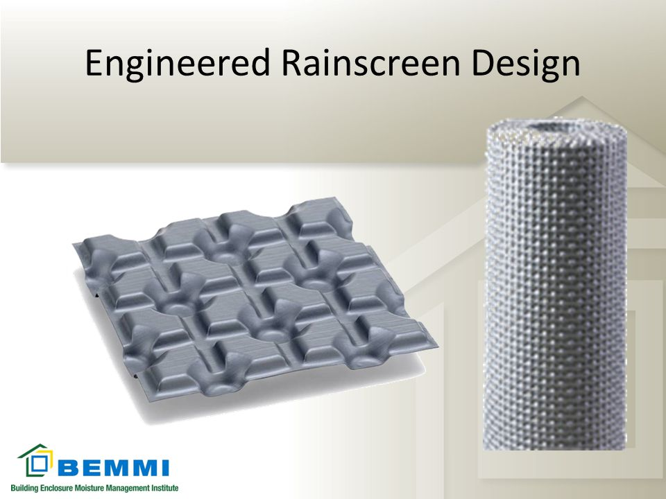 Engineered Rainscreen Design