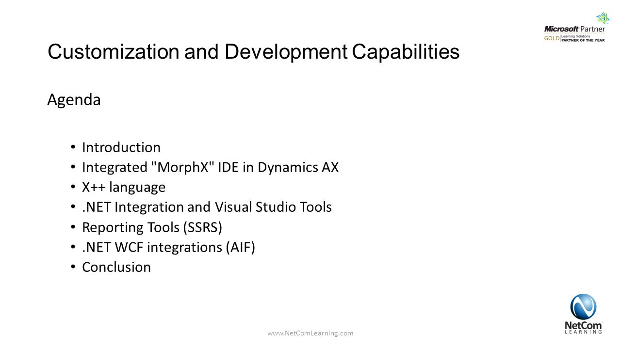 Customization and Development Capabilities
