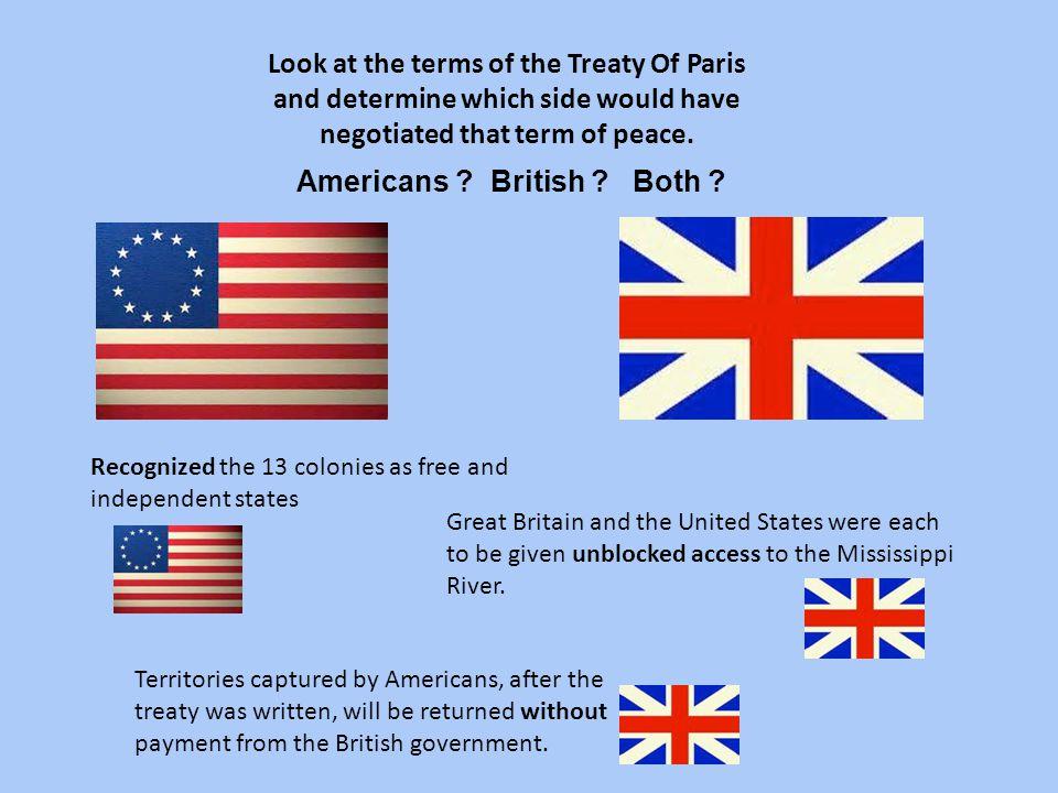 Americans British Both