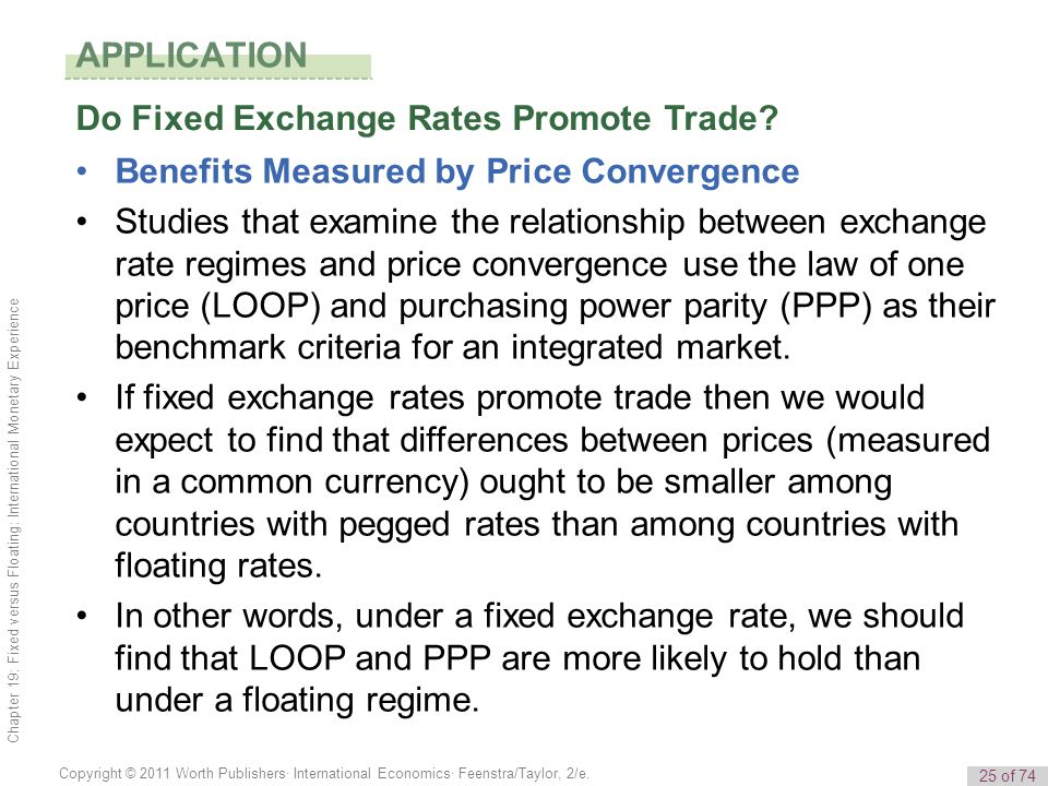 Do Fixed Exchange Rates Promote Trade