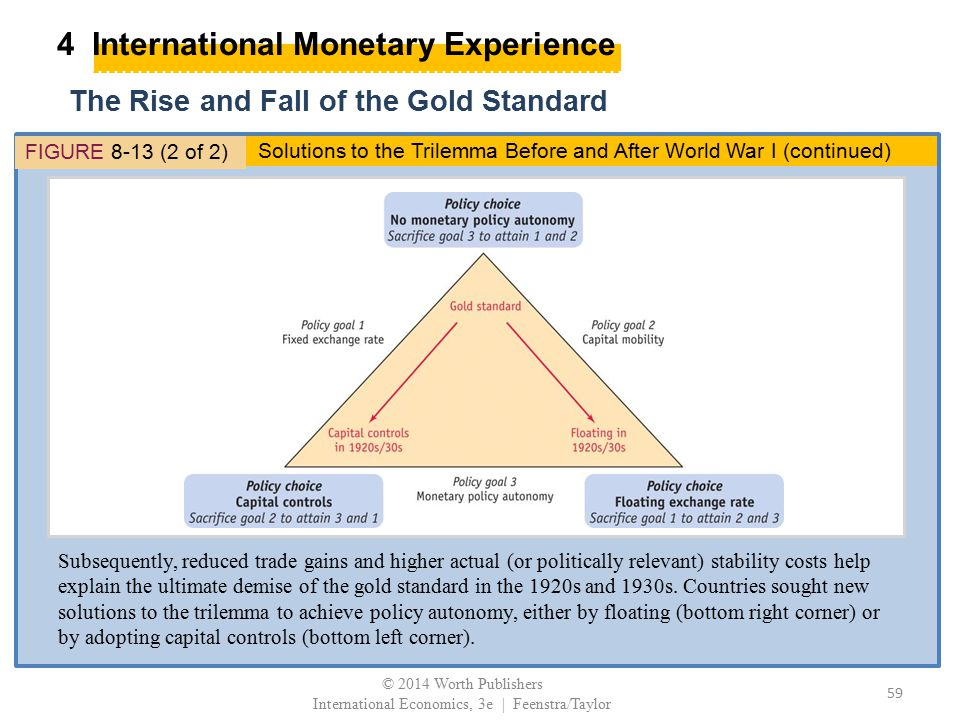 4 International Monetary Experience