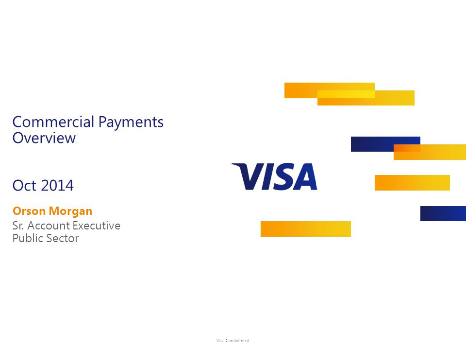 Commercial Payments Overview Oct 2014