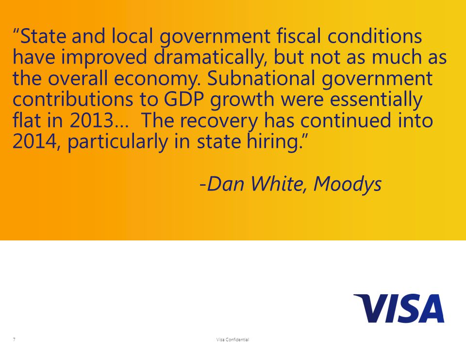 State and local government fiscal conditions have improved dramatically, but not as much as the overall economy.