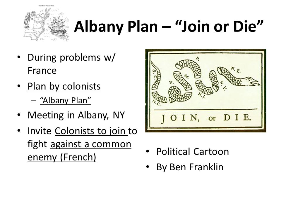 Albany Plan – Join or Die