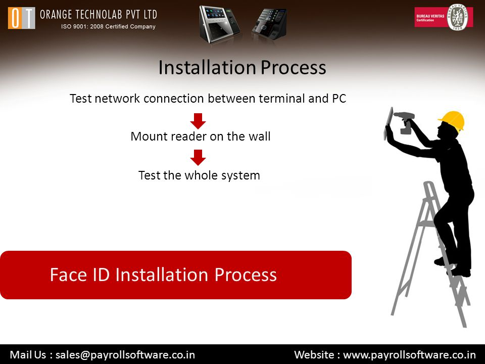 Installation Process Face ID Installation Process