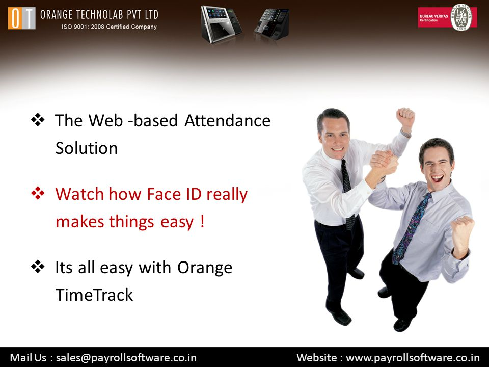 The Web -based Attendance Solution