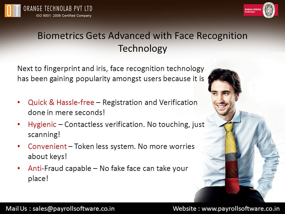 Biometrics Gets Advanced with Face Recognition Technology