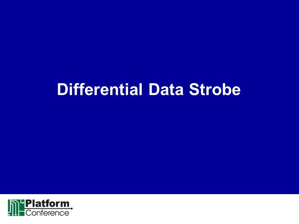 Differential Data Strobe