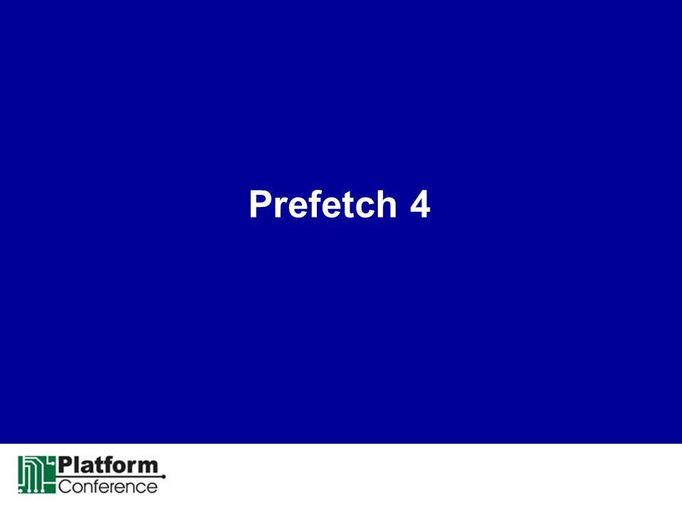 Prefetch 4