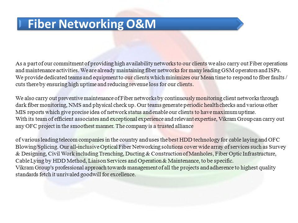 Fiber Networking O&M