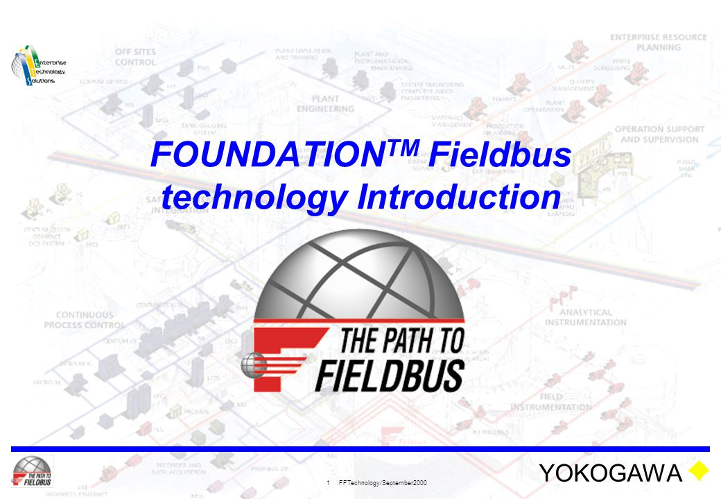 FOUNDATIONTM Fieldbus technology Introduction
