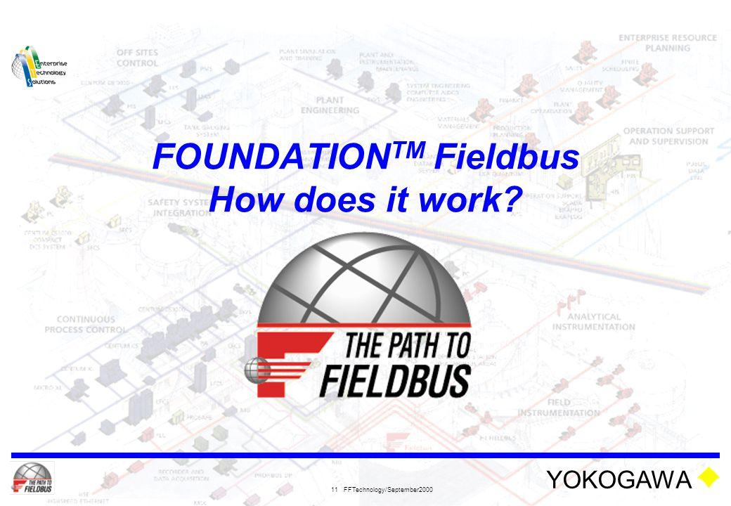 FOUNDATIONTM Fieldbus How does it work