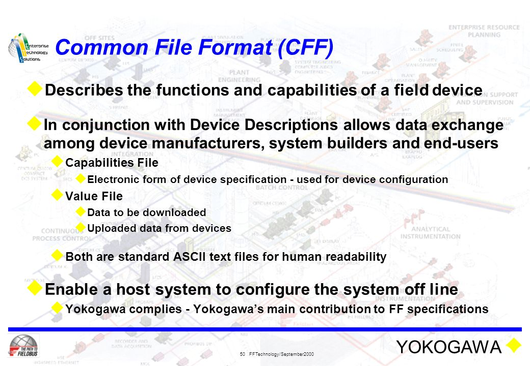 Common File Format (CFF)