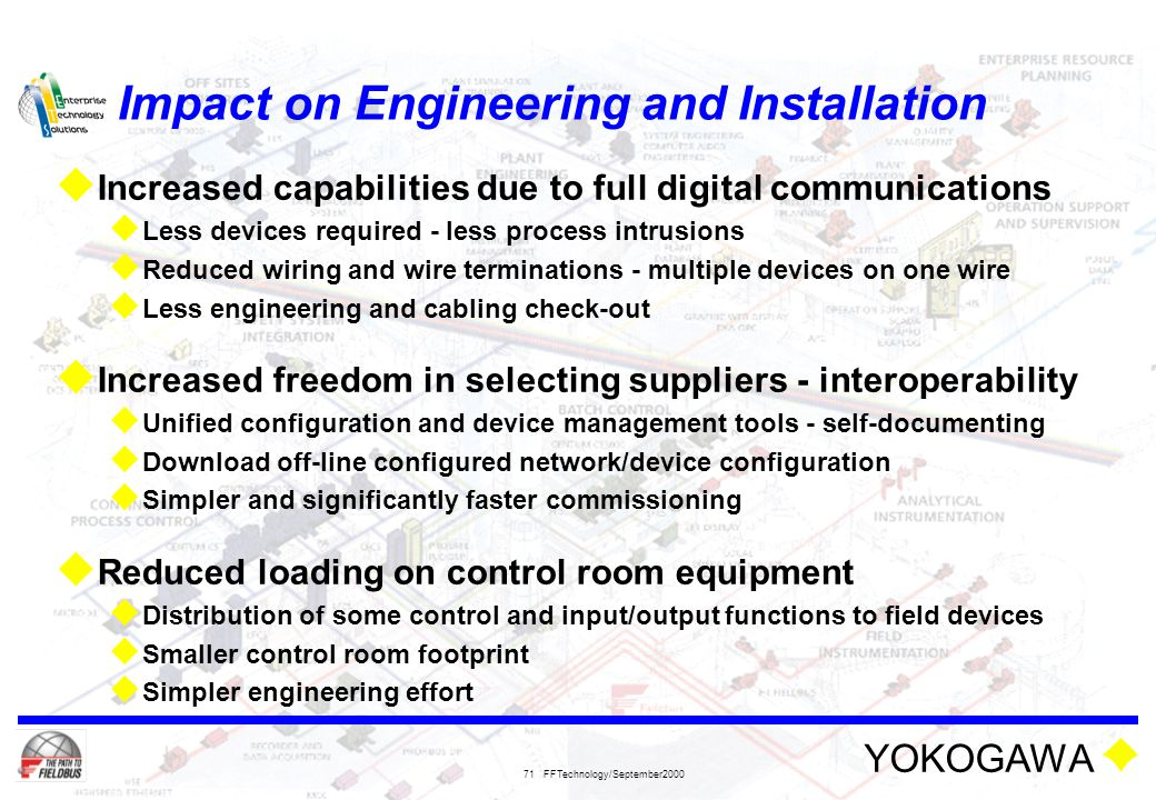 Impact on Engineering and Installation