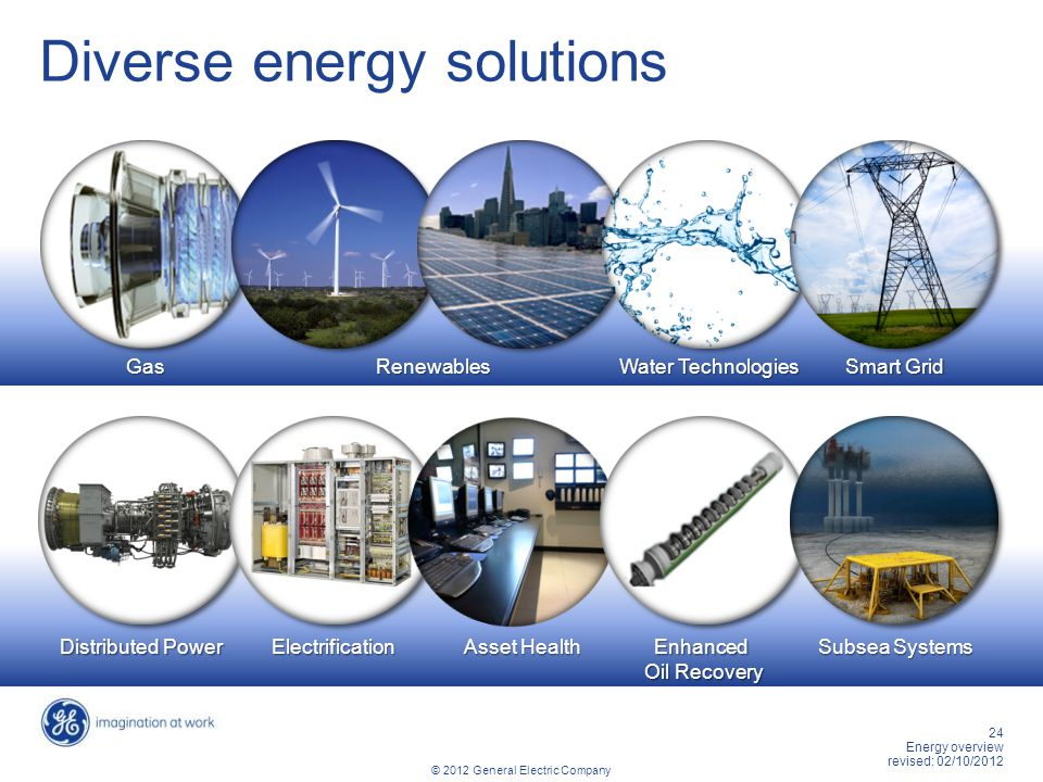 Diverse energy solutions