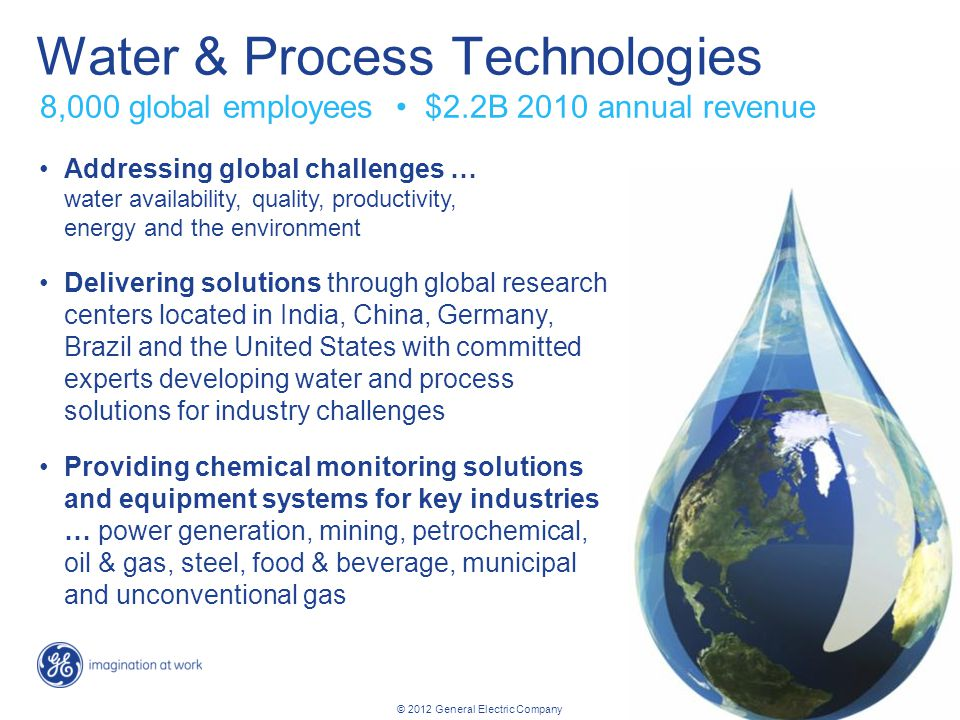 Water & Process Technologies
