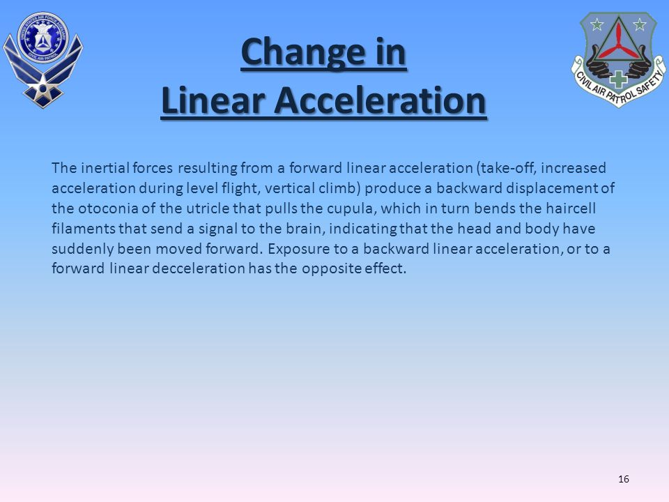 Change in Linear Acceleration