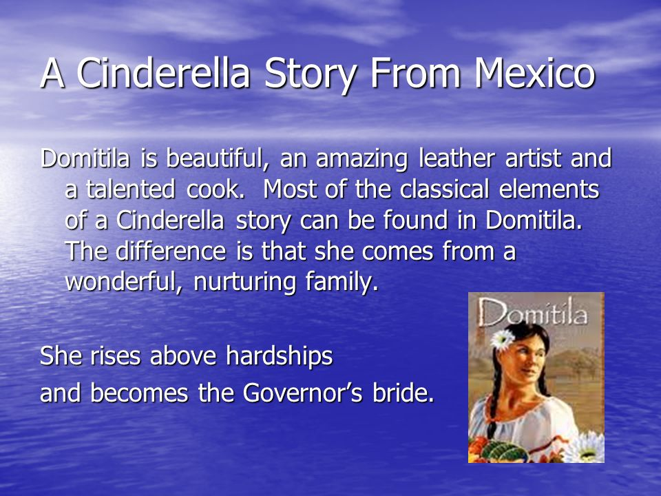 A Cinderella Story From Mexico