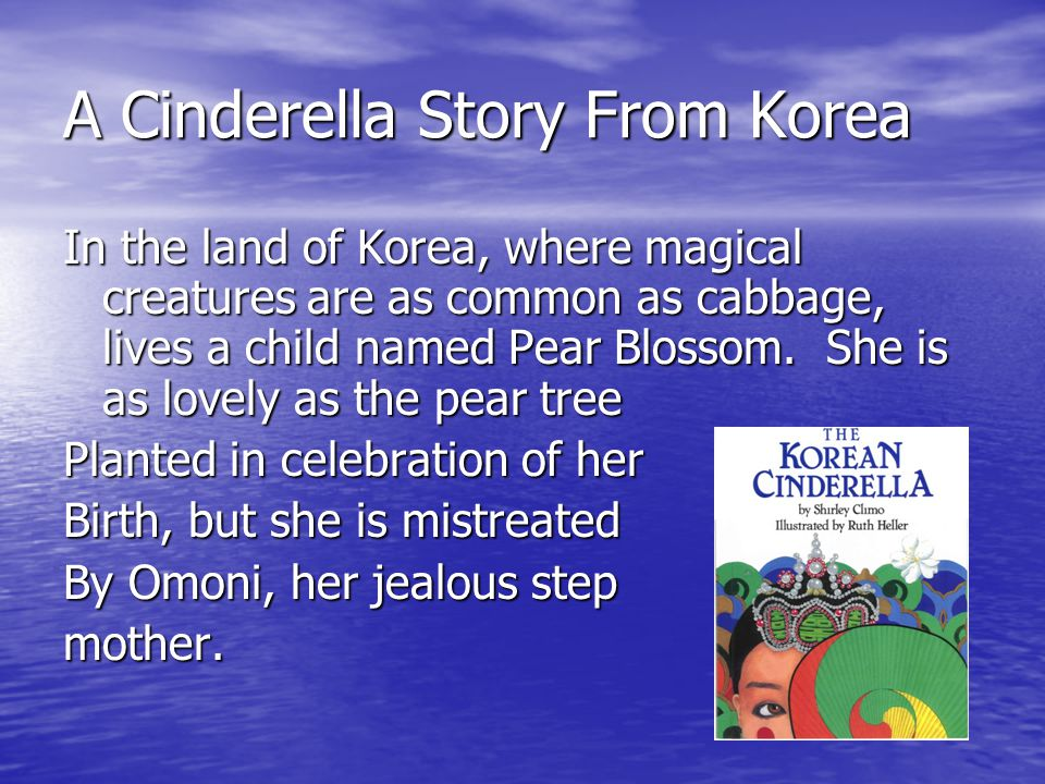 A Cinderella Story From Korea